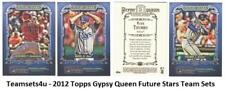 2012 Topps Gypsy Queen Future Stars Baseball Set ** Pick Your Team **