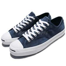 Converse Jack Purcell Pro Blue White Suede Men Classic Shoes Sneakers 159124C