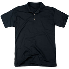 Kung Fu Panda Kung Fu Group (Back Print) Mens Polo Shirt Black
