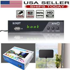 ATSC Terrestrial or Clear QAM Digital Cable HDTV Tuner Receiver with HDMI OUTPUT