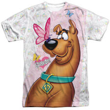 Scooby Doo Butterfly Mens Sublimation Polyester Shirt