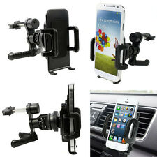 Universal 360° Car Air Vent Mount Cradle Holder Stand For Mobile Smart Phone GPS
