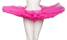 Girls Ladies Dance Ballet Practise Pancake Plateau Tutu Skirt Katz All Colours