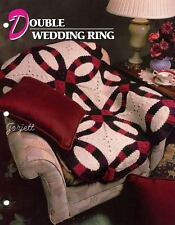 Double Wedding Ring Quilt Afghan, Annie's crochet pattern