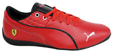 Puma Drift Cat 6 SF Flash Red Lace Up Mens Leather Trainers 305291 04 D44