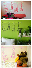 Home Wall Quote Stickers Kids Children Nursery Wall Decals Bedroom