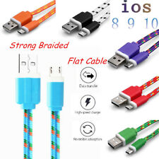 1-3M HIGH SPEED Braided USB Charger Data Sync Cable For iPhone 5 5S SE 6 6S 7 7+