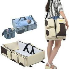 3 in 1 Portable Infant Baby Bassinet Diaper Bag Changing Station Nappy Travel W