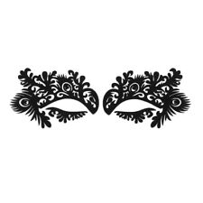 1 Pair Lace Eye Beauty Sticker Make Up Eyeshadow Decoration for Masquerade Party