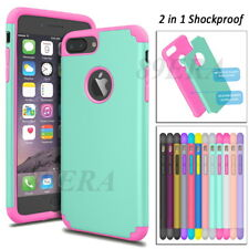 Armor Heavy Duty Case Hybrid Shockproof Hard Cover For Apple iPhone 6 7 8 Plus
