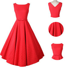 Women's 1950s Vintage Bridesmaid Dress Rockabilly Cocktail Evening Formal Party
