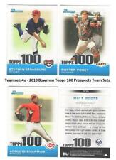 2010 Bowman Topps 100 Prospects Baseball Set ** Pick Your Team **