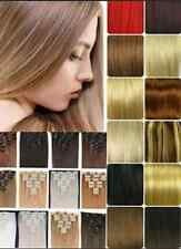 New sell  Real Human Hair Full Head Clip in Remy Hair Extensions Full Head Lot