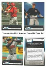 2011 Bowman Topps 100 Baseball Set ** Pick Your Team **