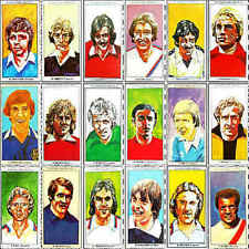 SUN Soccercards 1978 1979 football player card - VARIOUS 801 -  900