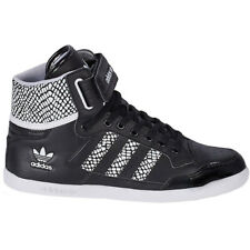 Adidas Centenia Hi W Ladies Shoes Leather Black Sneakers High NEW top ten forum