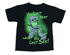 "RB Rudeboyz Black ""Ninja Can't Beat"" Graphic T-Shirts Little Boys Medium (5/6)"