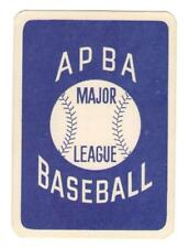 1988 APBA Season Extra Players Only Baseball Set ** Pick Your Team **