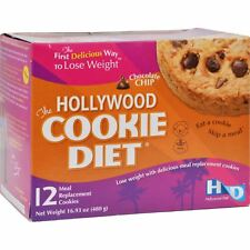 Hollywood Diet Miracle Products Cookie Diet Meal Replacement Cookie Chocolate Ch