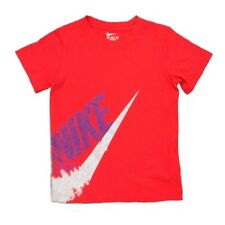 NEW - Nike Little Kids Boy's Athletic Cut Short Sleeve Red T-Shirt - Pick Size