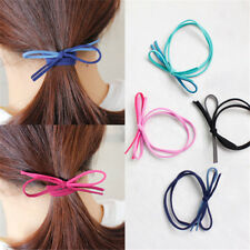 Women Bow Hair Ties Ropes Ponytail Holder Hair Bands Scrunchie Hair Accessories