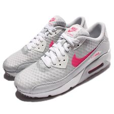 Nike Air Max 90 Ultra 2.0 BR Breeze GS Grey Pink Girls Kids Sneakers 881923-001