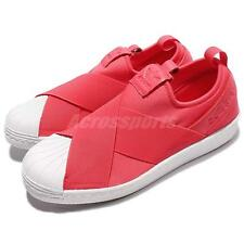 adidas Originals Superstar Slip On W Pink White Womens Casual Shoes BB2118