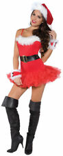 Santa Claus SUIT Mrs Pub Crawl Costume Sexy Naughty WM 4pcSet Christmas RED