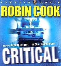 Critical by Robin Cook (2007, CD, Audiobook)