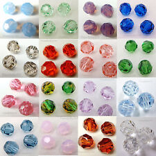 SWAROVSKI Crystal Element 5000 10mm Faceted Round Bead   Many Color  #1