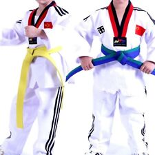 Professional Taekwondo Belt Karate Judo Double Wrap Martial Stripe Arts Sports