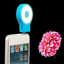 Portable Smartphone Selfie Mini 8 LED Flash Fill Light Lamp For All Phone S-9