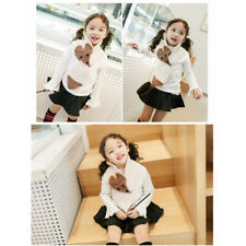 Fall Winter Trend Baby Girls Fox Knitted Scarf 2-5 Years Old