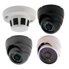 "Indoor Outdoor 700TVL 1/3"" Sony CCD Night IR 3.6mm Dome Security CCTV Camera"