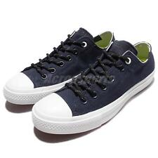 Converse Chuck Taylor All Star II 2 Shield Canvas Navy White Men Shoes 153538C