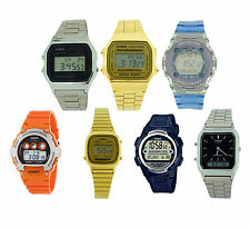 Casio Mens Gents Ladies Digital Analogue Watch for Him Her