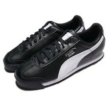 Puma Roma Basic Black White Men Casual Shoes Sneakers Trainers 353572-11