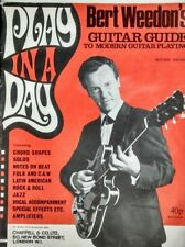 Bert Weedons Play in Day day Iconic guitar tutor book vintage copy
