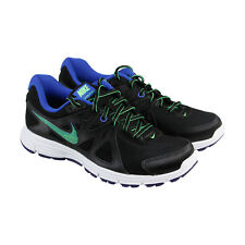 Nike Revolution 2 Womens Black Mesh Athletic Lace Up Running Shoes