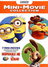 ILLUMINATION 7 MINI Movie Collection DVD LORAX_MINIONS_HOP_NEW sealed-Free Ship