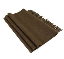 Woven 100 % Pure Baby Alpaca Wool Scarf Unisex - Dye Free Natural Colors
