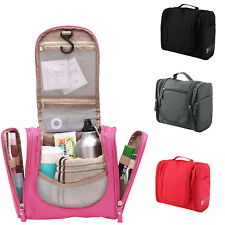Travel Makeup Cosmetic Bag Toiletry Wash Case Organizer Hanging Storage Bag
