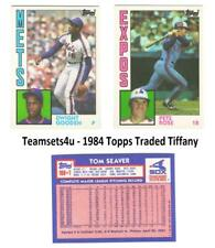 1984 Topps Traded Tiffany Baseball Set ** Pick Your Team **