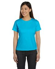 LAT 3580 Women's Short Sleeve Combed Ringspun Scoop Neck T-Shirt Other Colors