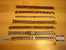 CITIZEN WRISTWATCH BANDS 7 STYLES TO CHOOSE FROM LADIES STYLES STAINLESS & GILT