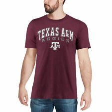 Colosseum Texas A&M Aggies Heathered Maroon Distressed Arch Over Logo T-Shirt