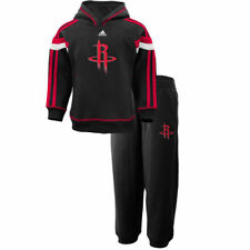 adidas Houston Rockets Preschool Black Anthem Hoodie and Sweatpants Set - NBA