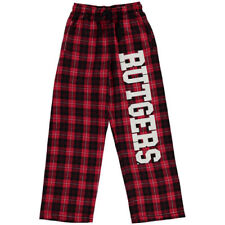 Rutgers Scarlet Knights Youth Scarlet Plaid Flannel Pants - College