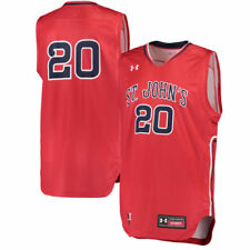 Under Armour #20 St. Johns Red Storm Red Replica Basketball Performance Jersey