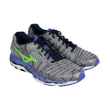 Mizuno Wave Paradox Mens Black Synthetic Athletic Lace Up Running Shoes